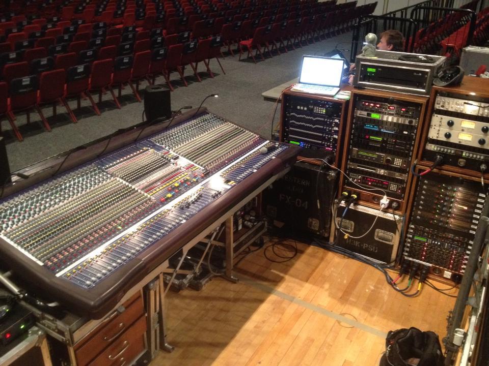 Live Sound Engineering – Morrisound
